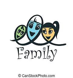 vector family logo