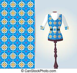 Vector fashion illustration 4