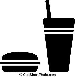 vector fast food symbol