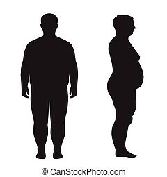 vector fat body, weight loss,
