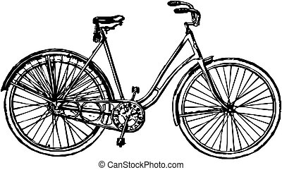 vector, fiets