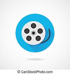 Vector Film Reel Icon