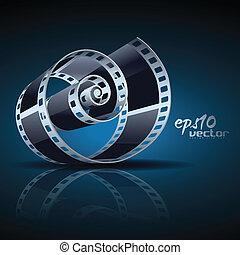 vector film reel