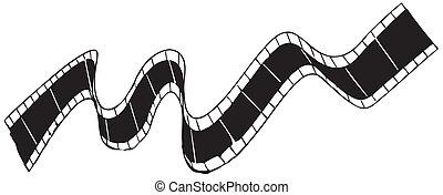 vector film strip