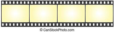 vector film strip - vector