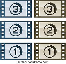 vector film strips