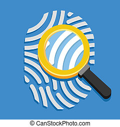 Vector Fingerprint and Loupe
