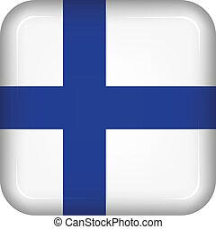 Vector finland flag