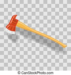 Vector Firefighter Axe Icon