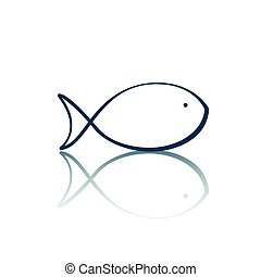 Vector Fish Icon