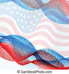 vector flag background