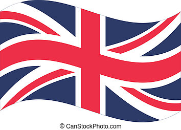 Vector flag. Great Britain