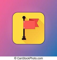 Vector Flag Icon