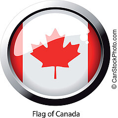 Vector flag of Canada