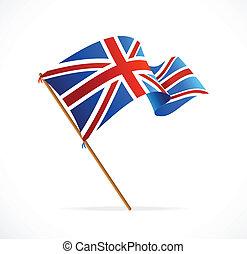 Vector Flag of UK