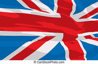 Vector flag of United Kingdom