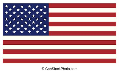 Vector Flag of USA background