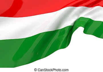 Vector Flags of  Hungary