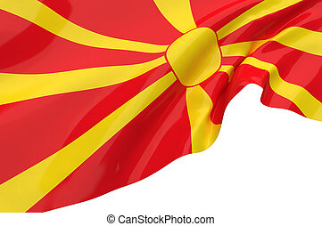 Vector Flags of Macedonia
