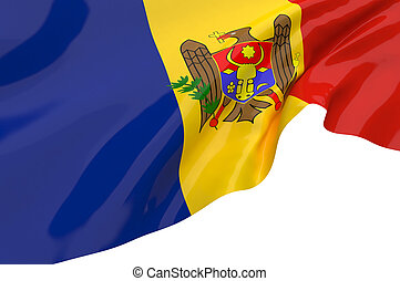 Vector Flags of Moldova