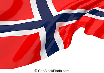 Vector Flags of Norway
