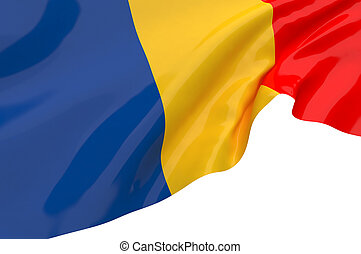 Vector Flags of Romania