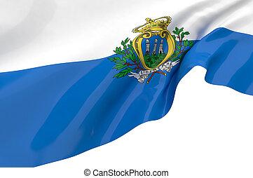 Vector Flags of San Marino - Vector Flags of San marino