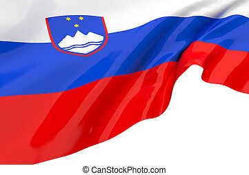 Vector Flags of Slovenia