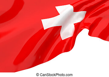 Vector Flags of Switzerland