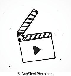 flap movie hand drawn