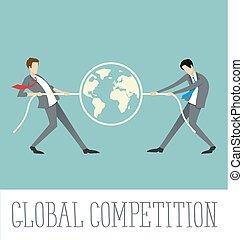 Vector Flat Business Concept - Vector flat business concept...