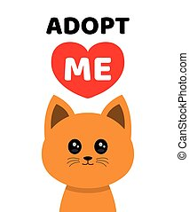 Adopt me. Dont buy. Cat Pet adoption.