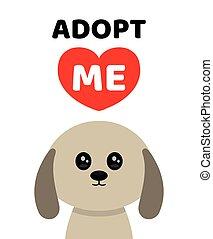 Adopt me. Dont buy. Dog Pet adoption.