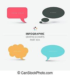 Vector flat design infographic elements