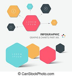 Vector flat design infographic elements