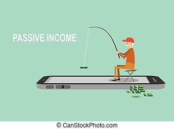 passive income investment concept