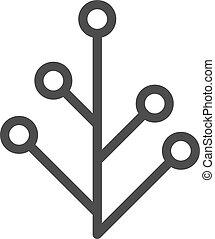 Vector Flat Plant Icon