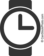 Vector Flat Watches Icon