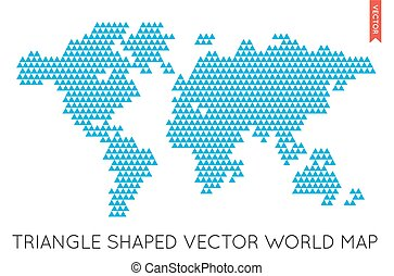 Vector flat world map infographic map of the world eps vector vector flat world map infographic map of the world gumiabroncs Image collections