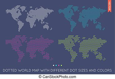 Vector flat world map infographic map of the world clipart vector vector flat world map infographic map of the world gumiabroncs Choice Image
