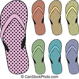 flip flops clipart