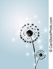 vector, flor, Plano de fondo