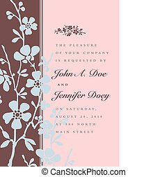 Vector Floral Ornaments and Border