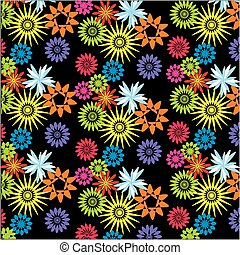 Vector floral pattern or wallpaper