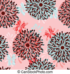 vector floral seamless background