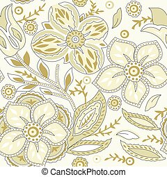 Vector - floral seamless pattern