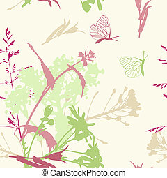 floral seamless pattern - vector floral seamless pattern...