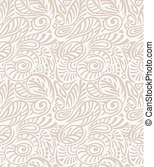 Vector - Floral seamless royal wallpaper