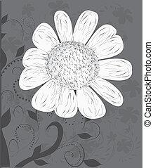 vector flower background...