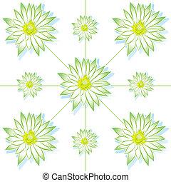 vector flower lotus